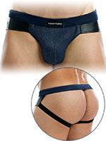 Modus Vivendi - Indigo Jockstrap - Jeans