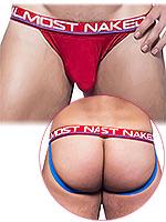 Andrew Christian - Almost Naked Premium Jock - Rot