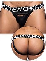 Andrew Christian - Eclipse Jock Denim - Schwarz
