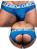 Andrew Christian - Almost Naked Electric Locker Room Jock - Blau