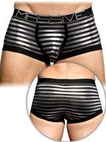 Andrew Christian - MASSIVE Glam Stripe Boxer - Schwarz
