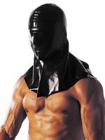 Latex Extasy Mask Black