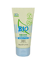 HOT Veganes Bio-Gleitgel - Sensitive - 50 ml