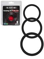Push Monster Cockring - Silikon Ring Set