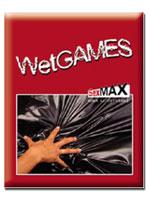 Wet Games Sex-Laken - rot 180x220 cm